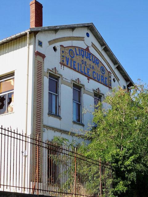 La vieille cure, le bâtiment date de 1909