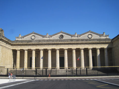 Palais de justice de Bordeaux, place de la République