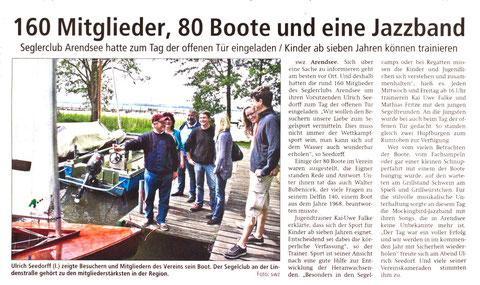 160 Mitglieder, 80 Boote und eine Jazzband