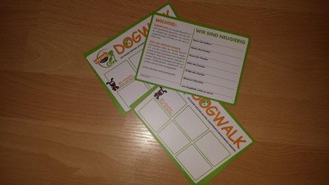 Teilnehmerkarten DogWalk 2014