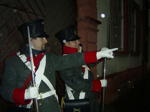 Mit den Gendarmen in der Heidelberger Altstadt