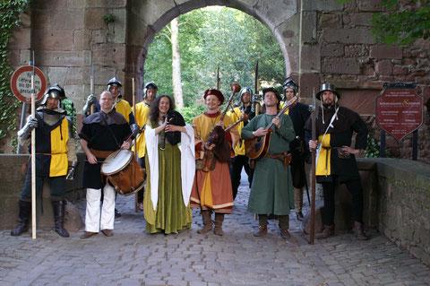 Mittelalterliche Hochzeiten  Heidelberg