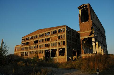 altes Maizenagebäude-Kesselhaus kurz vor Abriss-Foto O.Bleich