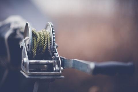 Seilwinde  ·  Bootstrailer