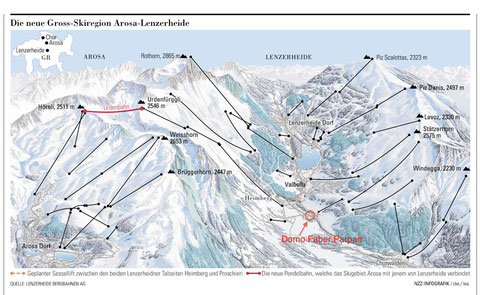 Skiregion Lenzerheide-Arosa (Quelle: NZZ)