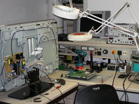 LED/LCD-TV Reparatur
