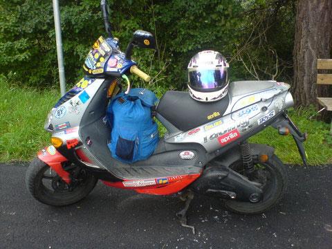 Mein geliebtes Moped