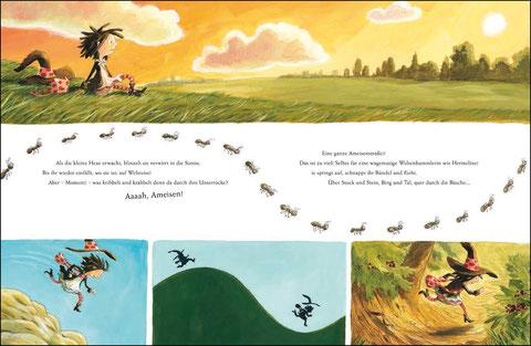 Hermeline auf Reise! …ah, Ameisen!