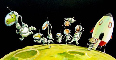Urmels Mondspaziergang