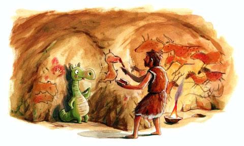 Urmel trifft Steinzeitmenschen