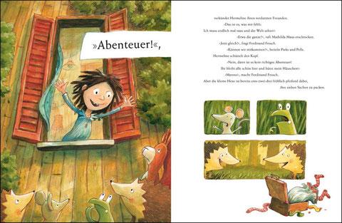 Hexe Hermeline möchte ein Abenteuer erleben!
