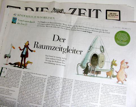 """Urmel in """"DIE ZEIT"""", Folge 1: Der Raumzeitgleiter"""