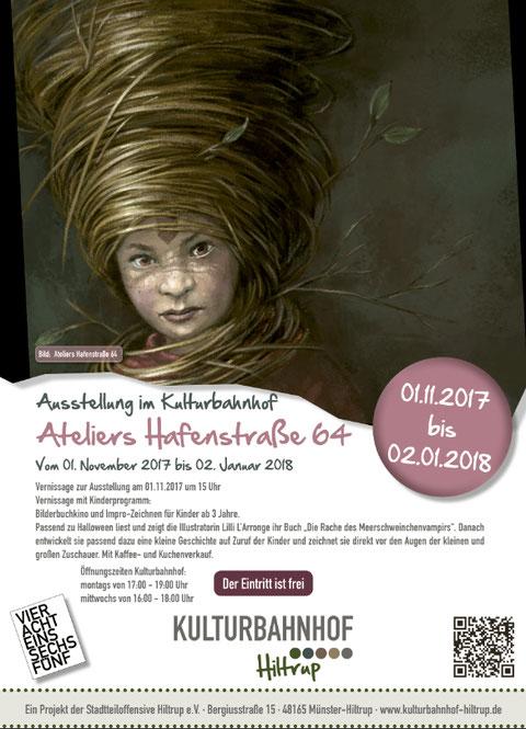 Ateliers Hafenstraße Ausstellung im Kulturbahnhof Hiltrup