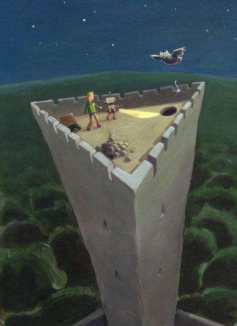 Was ist das Geheimnis der dreieckigen Burg?
