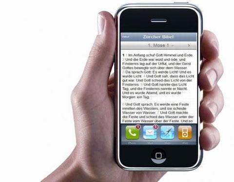 Bibel App auf dem iPhone
