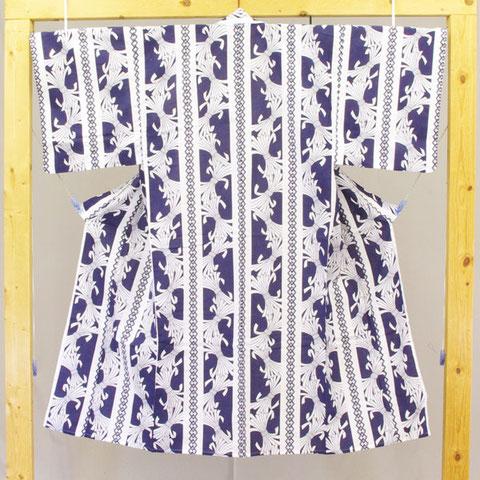 シルクスクリーンプリント浴衣