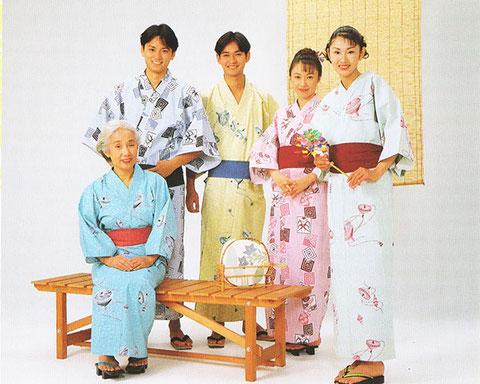 旅館浴衣 業務用 日本製