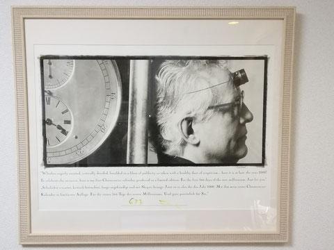 クロノスイス時計・ポスター