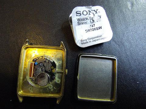 電池はSONY(国産)電池を使用します。