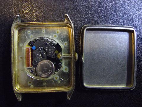 時計内部の状態
