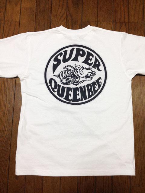 SQB Tシャツ 背面