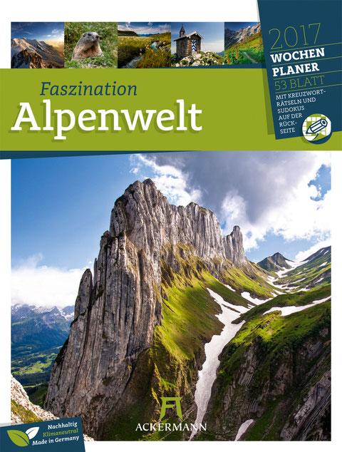 Ackermann Kalender Faszination Alpenwelt