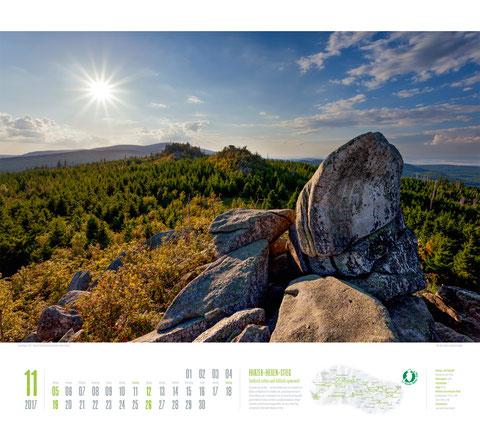 Ackermann Kalender Deutschlands schönste Wanderwege