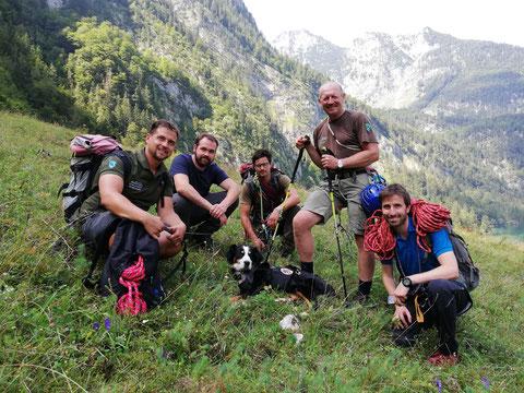 mein wanderhund; Bergrettung Hund; Bergnot Hund; Wandern mit Hund; BRK BGL; Nationalpark Berchtesgaden.