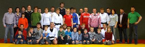 Russisches Judoteam beim Judo Club Stockerau