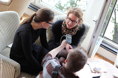 Heute um 11:10 Uhr radio eins einschalten! Inga und Coralie im Interview bei Paetzolds Pop Cuisine. Danke Johannes Paetzold!