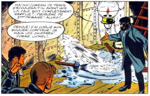 """""""Suspense à la télévision"""", page 40 case 1"""