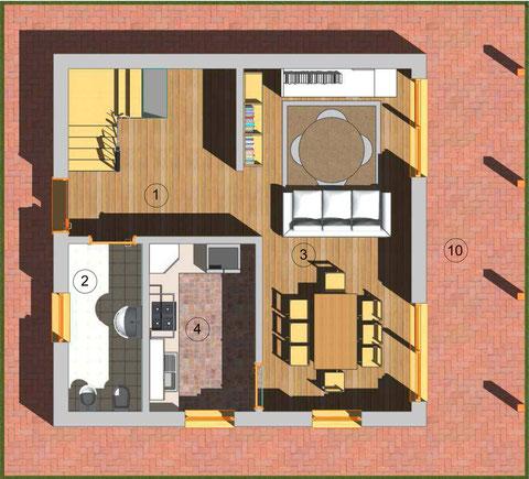 PT Villa 2piani tradizionale 110mq