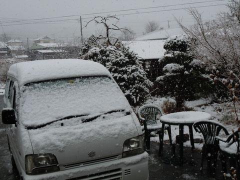 2月4日こんなに雪が・・・