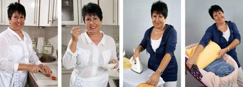 Hauswirtschaftshilfe, kochen, bügeln, waschen, küche