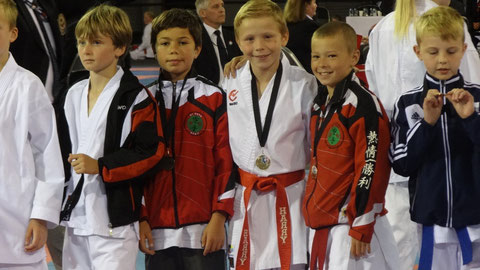 Harry Gets Kumite Gold