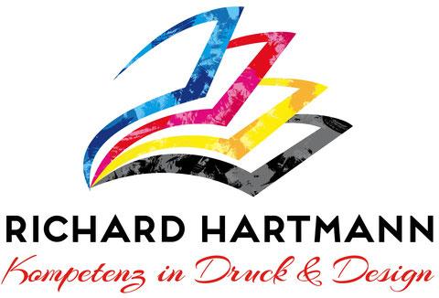 das Logo der Druckerei Hartmann