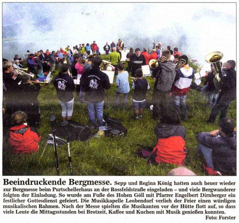 Südostbayerische Rundschau vom 05.08.2011