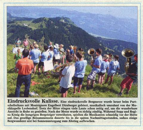 Südostbayerische Rundschau vom 7. August 2013