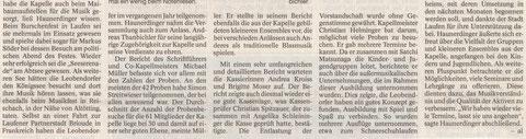 Südostbayerische Rundschau vom 18./19.03.2017