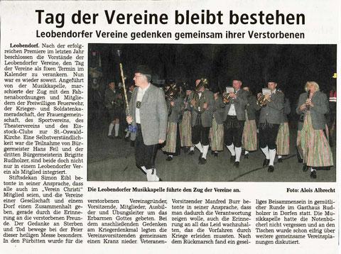 Südostbayerische Rundschau vom 15. November 2013