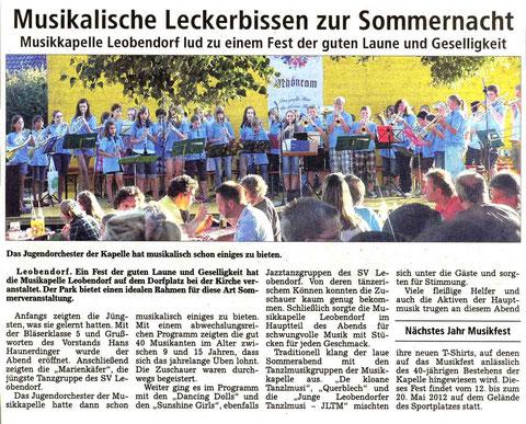 Südostbayerische Rundschau vom 10.08.2011