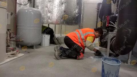 Sòls i paviments industrials en indústia química