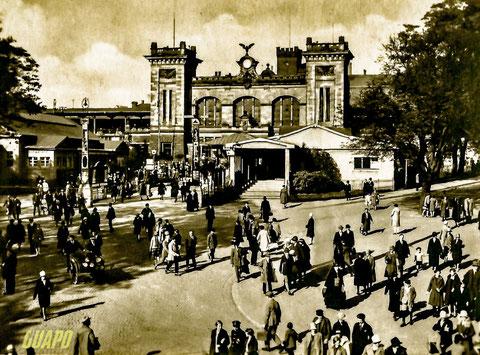 das alte Hauptbahnhofsgebäude