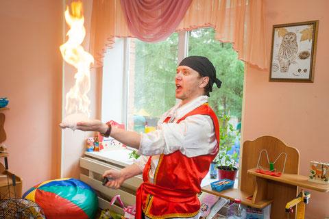 мыльное шоу для детей на детский праздник