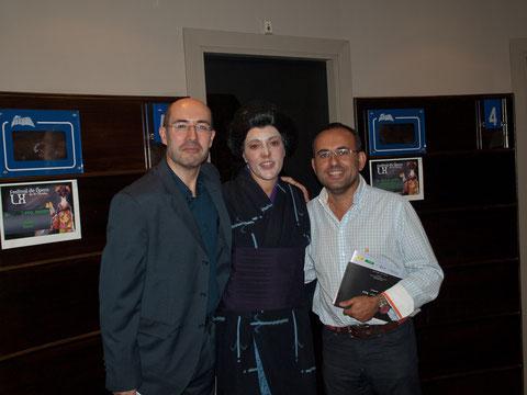 Carlos, Daniel y Suzuki