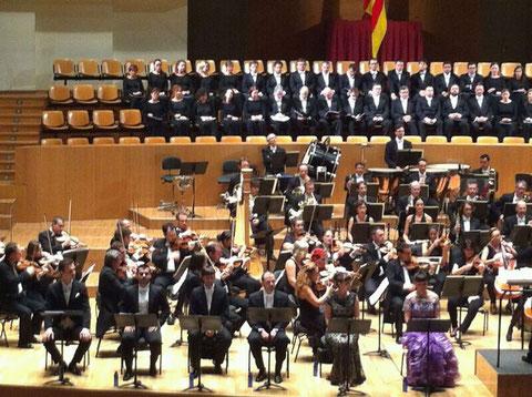 Opera, Le diable a Seville. Dirigidos por el maestro Soler.