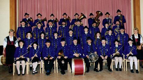 1999: Die neu eingekleidete Kapelle im Mai