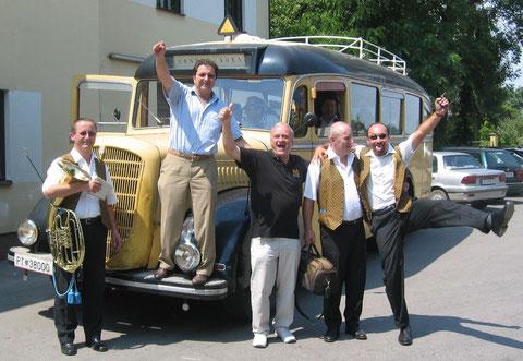 100 Jahre Gasthaus Fink - ab geht die Post (der Postbus) am 23. Juli