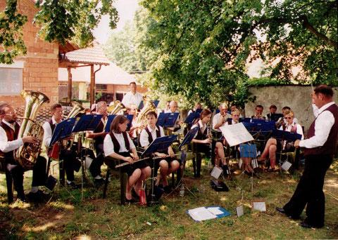 1994 Tradition für viele Jahre: Tag der Blasmusik am Angerhofkirtag
