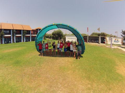 waveBandits Kite-Center im Aldiana Zypern, Alaminos / Zypern